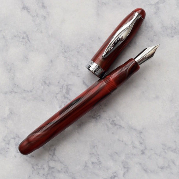 Noodlers Ahab Comanchee Pearl Fountain Pen Flex Nib-Noodlers-Truphae