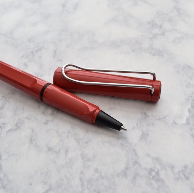 Lamy Safari Bright Red Rollerball Pen-Lamy-Truphae