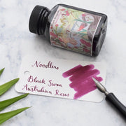 Noodlers Black Swan in Australian Roses Burgundy 3oz Ink Bottle-Noodlers-Truphae