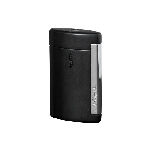 ST Dupont MiniJet Matt Black & Chrome Finish Lighter ST010503-ST Dupont-Truphae