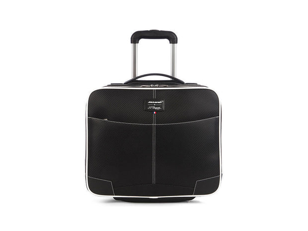 ST Dupont Defi McLaren 2016 Black Leather Zip Roller Document Case ST171005MC-ST Dupont-Truphae