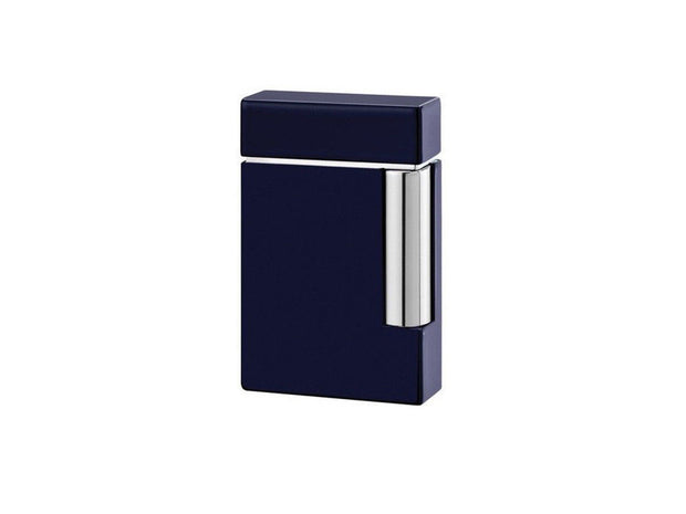 ST Dupont Line 8 Blue Lacquer & Chrome Finish Lighter ST025104-ST Dupont-Truphae