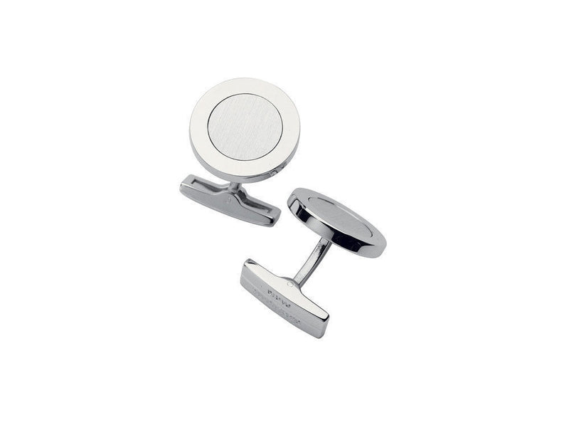 ST Dupont Brushed Palladium Finish Cufflinks Set ST005069