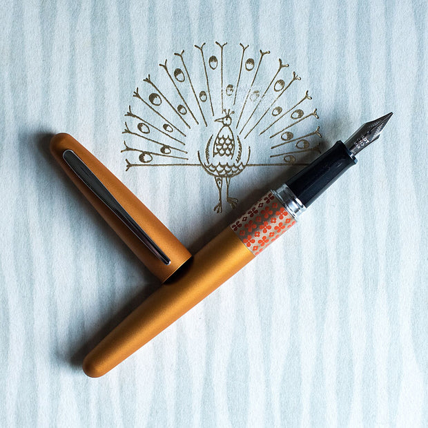 Pilot Metropolitan MR Retro Pop Orange Fountain Pen-Pilot-Truphae