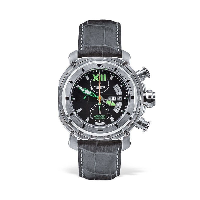 Visconti Italy Full Dive 500 Chronograph Stainless Steel 45mm Automatic Watch