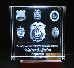 Retirement, Promotions and recognitions for Police, Fire, EMS and Members of the service Shields
