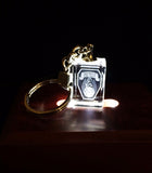 Crystal Keychain in 2D. Have your logo, company logo or any other picture lasered into a Crystal Keychain!