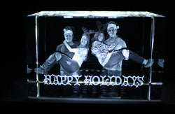 Holiday Photo Crystal- make the perfect photo crystal in 3D!