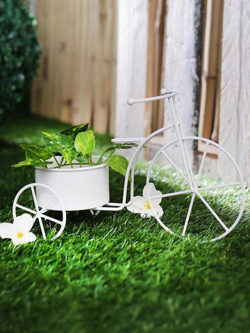 Big Cycle Planter White