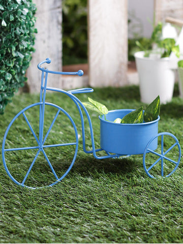 Big Cycle Planter Blue
