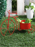 Big Cycle Planter Red
