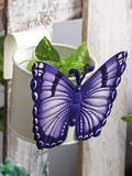 Butterfly Pot White