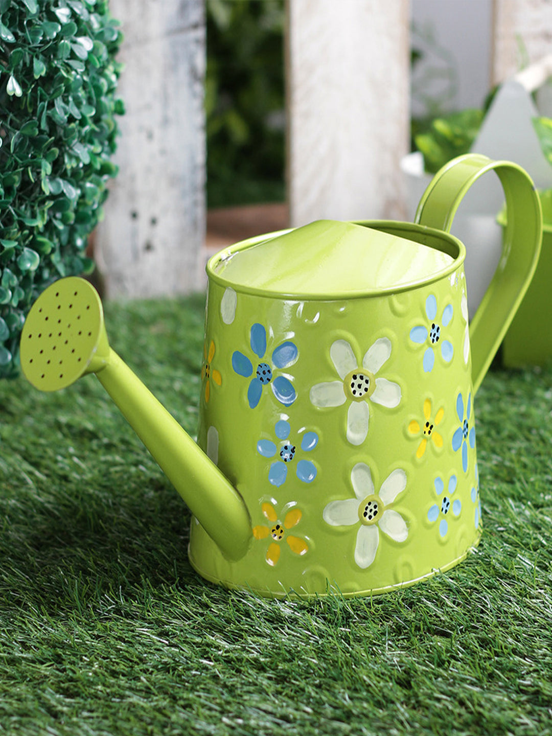 Handpainted Water cane Green