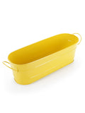 Oval Planter Large Yellow