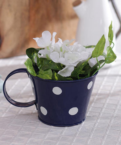 Polka Cup Small Blue