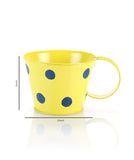 Polka Cup Small Yellow