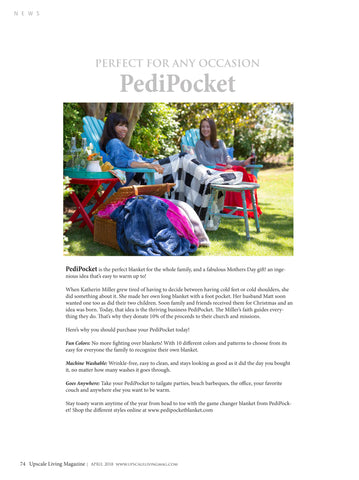Upscale Living Magazine PediPocket