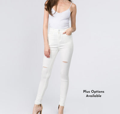 Bee's Perfect  White Jeans