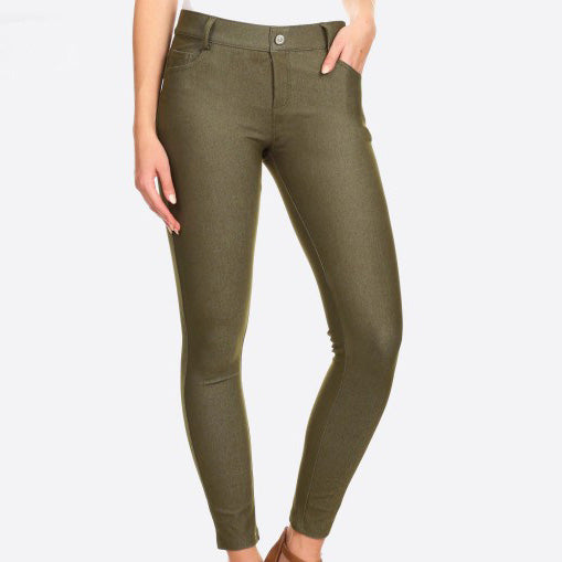 Bee's Perfect Olive Pants