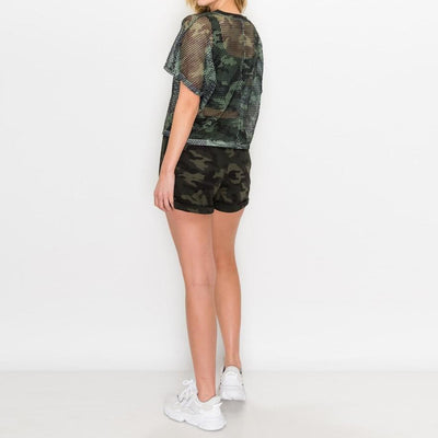 Bee's Comfy and Cool Camo Active Set