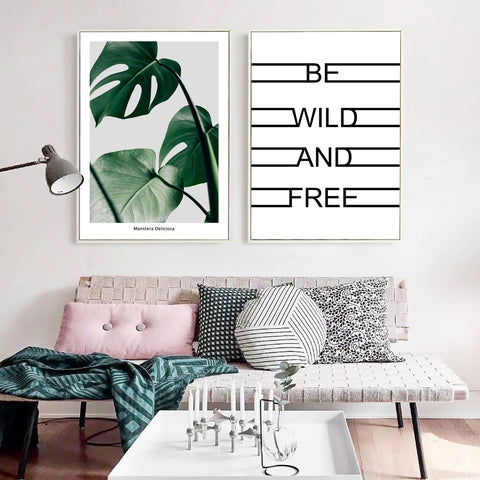 Wall Art | Be Wild and Free