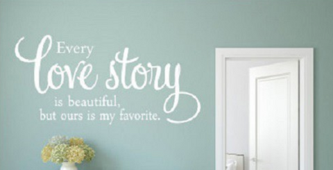 Love Story | Wall Sticker