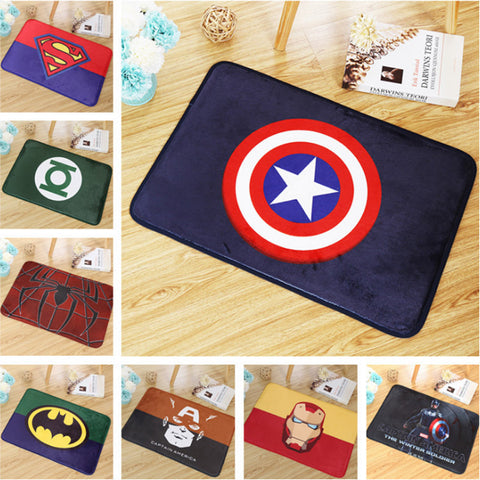 Cool Superhero Anti-slip Mats - betterhomes