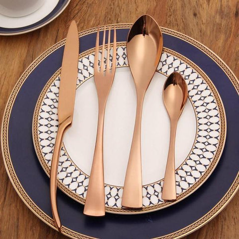 Rose Gold Cutlery Set - betterhomes