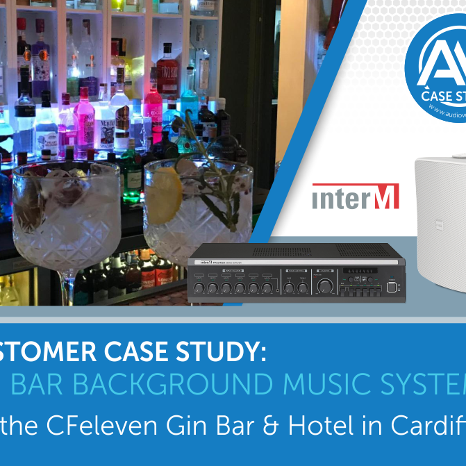 Bar background music system for the CFeleven