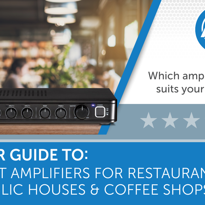 Best amplifiers for restaurants and pubs