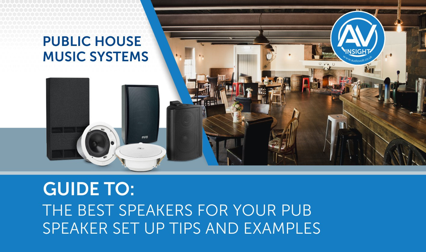 The Best Speakers for Pubs