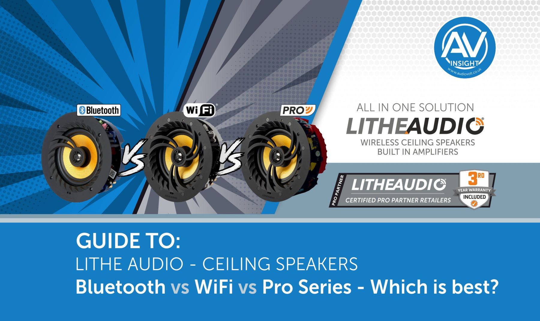 Lithe Audio WiFi vs Bluetooth vs Pro series  ultimate guide
