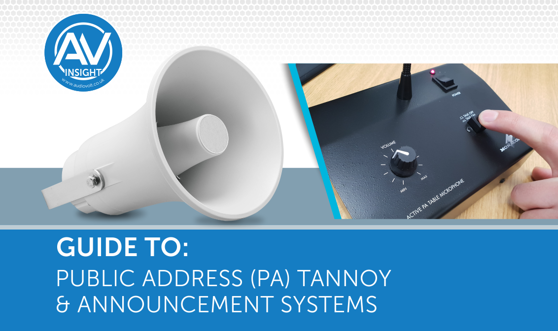The Best Public Address, Tannoy & Announcement Systems