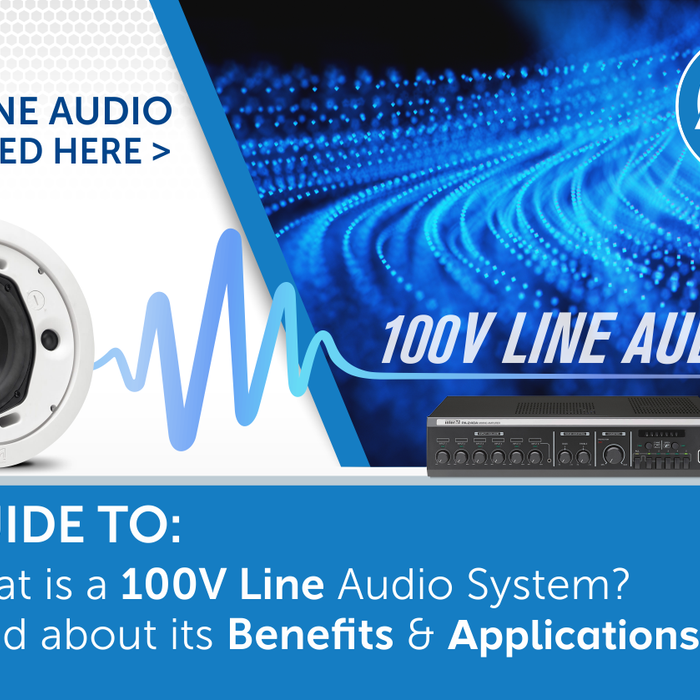 What is a 100V Line Audio System? Explained here