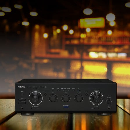 Amplifiers and Mixers for Background Music Systems