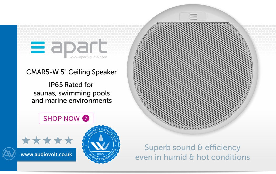 Shop now for the Apart CMAR5 ceiling speaker