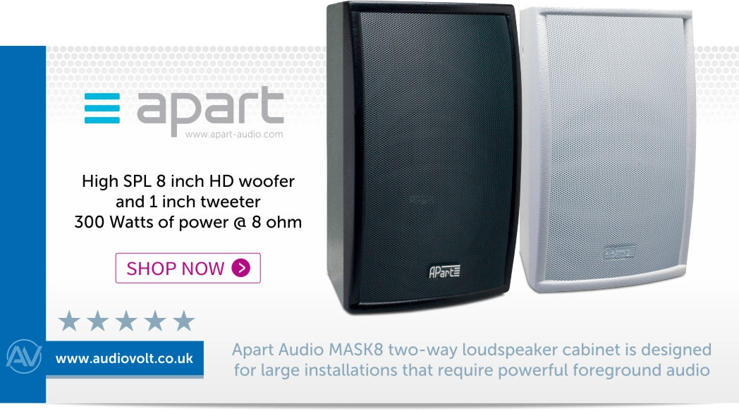 Shop now for the Apart Audio MASK8 loudspeaker