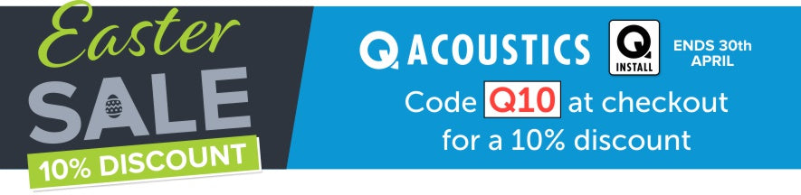 Use code Q10 for a 10% Easter Discount