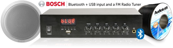 Features Bluetooth/USB and FM Tuner