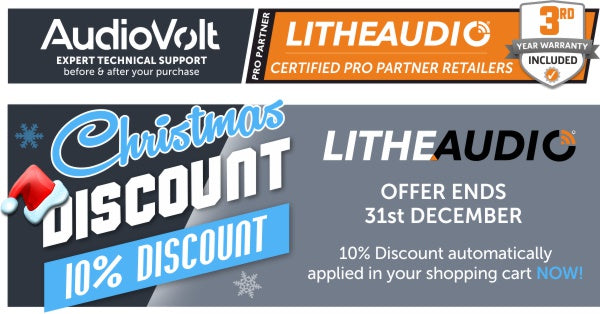 Lithe Audio Christmas Sale at Audio Volt