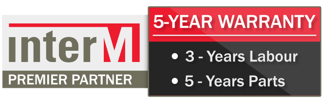 Inter-M 5 Year Warranty
