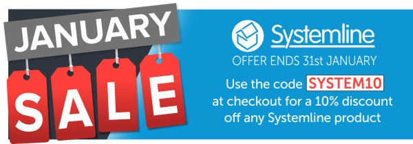Systemline January Sale - 10% off with the code: SYSTEM10