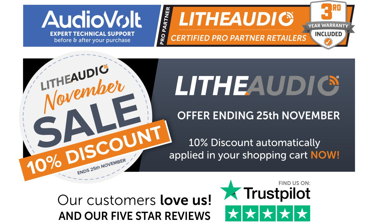Shop now for Lithe Audio with a 10% Discount
