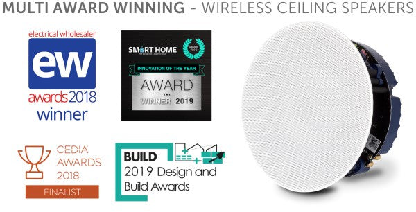 Lithe Audio award winning ceiling speakers