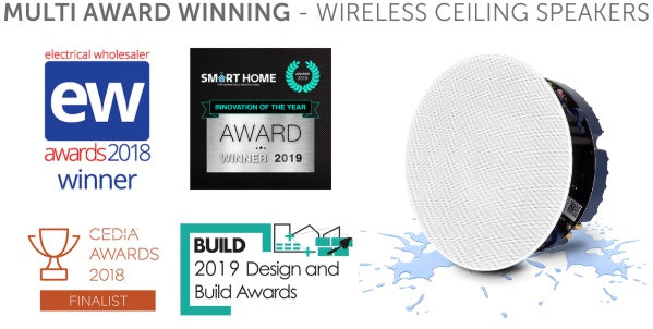 Award winning Lithe Audio Ceiling Speakers