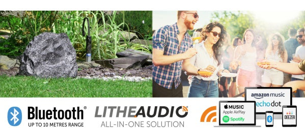 Rock Speaker by Lithe Audio for the Garden Patio