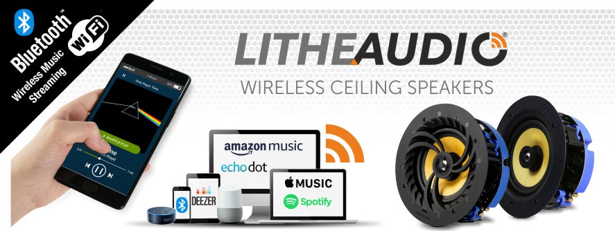 Lithe Audio wireless speakers available from Audio Volt