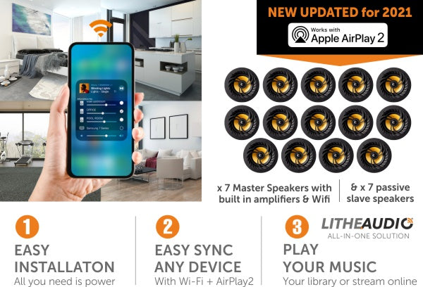 Lithe Audio 14 Speaker Pack available at Audio Volt