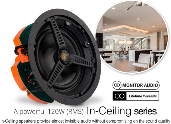 Monitor Audio C180 8 inch High-Performance Ceiling Speaker
