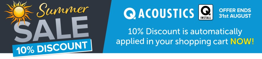 Q Install 10% Discount automatically applied in your shopping cart now